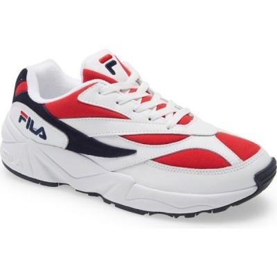 フィラ FILA メンズ スニーカー シューズ・靴 V94M Sneaker White/Red/White