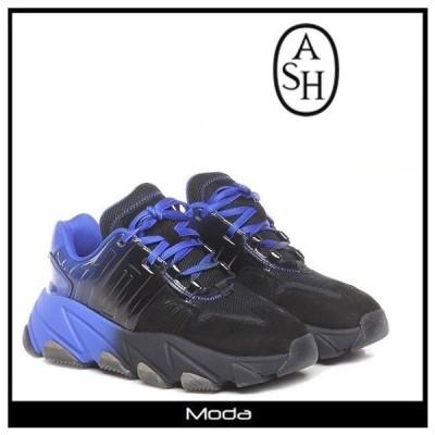 アッシュ スニーカー レディース ブラック ASH 靴 黒 レースアップ ダッド