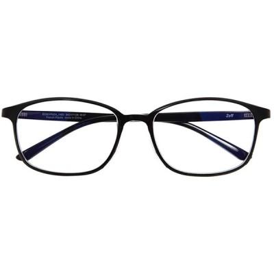 ウェリントン型 PCメガネ|Zoff PC REGULAR TYPE(ブルーライトカット率約35%)|ゾフ PC 透明レンズ パソコン用メガネ PCめ