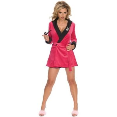 PLAYBOY Pink Girlfriend ローブ 衣装 、コスチューム 女性用