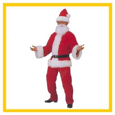 メンズ サンタクロース DX サンタ パーティー クリスマス コスプレ 衣装 男 s8176