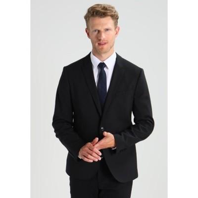 ドライコーン ジャケット&ブルゾン メンズ アウター LEWIS - Suit jacket - black