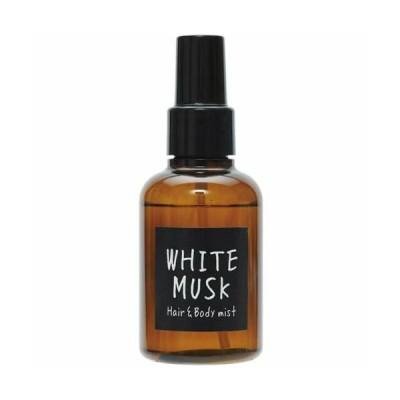ジョンズブレンド ヘア&ボディミスト ホワイトムスクの香り 【105ml】(ノルコーポレーション)