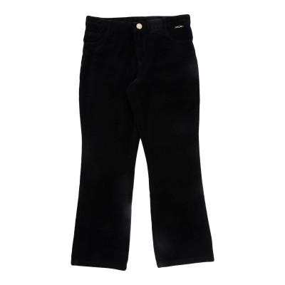 ツインセット シモーナ バルビエリ TWINSET パンツ ブラック 12 コットン 97% / ポリウレタン 3% パンツ
