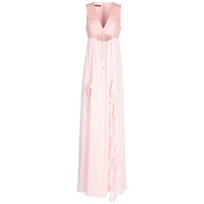 アンナリータ エンネ ANNARITA N ロングワンピース&ドレス ピンク 42 ポリエステル 100% / ポリウレタン ロングワンピース&ドレス