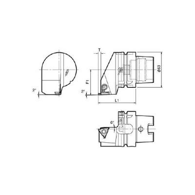 【代引不可】 京セラ ツーリング機器 【T63HKGBAR2235】