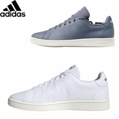 アディダス スニーカー メンズ レディース 靴 ローカット シューズ adidas ADVANCOURT BASE ブラック/