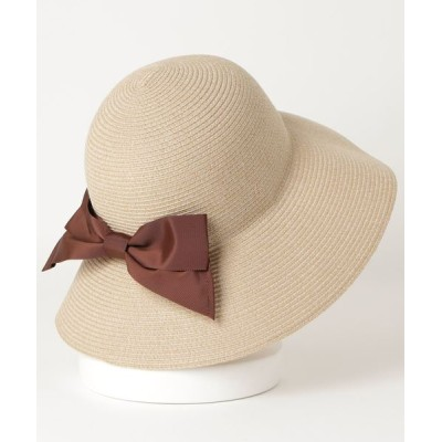 A BAG OF CHIPS / milsa/ミルサ ウォッシャブルブレードリボンケープ WOMEN 帽子 > ハット