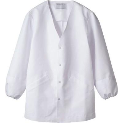 調理衣 1-551 長袖 男女兼用 異物混入防止袖口ネット 抗菌 O-157対応 厨房白衣 厨房服 調理服 板前服 飲食 和食 住商モンブラン