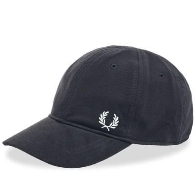 フレッドペリー Fred Perry Authentic メンズ キャップ 帽子 Fred Perry Pique Classic Cap Navy