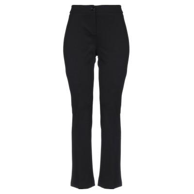 I BLUES パンツ ブラック 40 レーヨン 69% / ナイロン 25% / ポリウレタン 6% パンツ