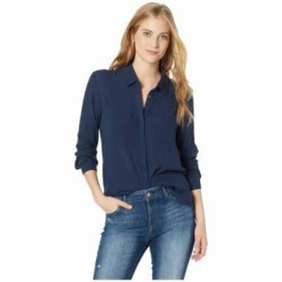 ロキシー ブラウス・シャツ Sanur Shades Button Up Shirt Dress Blues