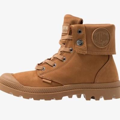 パラディウム メンズ 靴 シューズ BAGGY NUBUCK - Lace-up ankle boots - mahogany