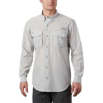 コロンビア メンズ シャツ トップス Columbia Men's Permit Woven LS Shirt Cool Grey