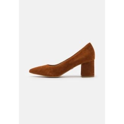 タマリス レディース ヒール シューズ Classic heels - cognac cognac