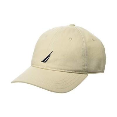 Nautica Men's J-Class Hat, Oat, One Size【並行輸入品】