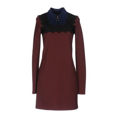 ピンコ PINKO ミニワンピース&ドレス ボルドー 40 65% レーヨン 30% ナイロン 5% ポリウレタン ミニワンピース&ドレス