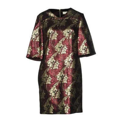 ロートレ ショーズ L' AUTRE CHOSE ミニワンピース&ドレス ディープパープル 40 100% ポリエステル ミニワンピース&ドレス