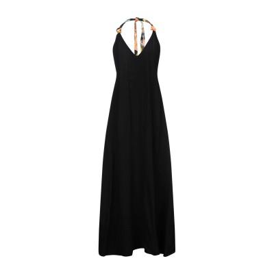ドリス ヴァン ノッテン DRIES VAN NOTEN ロングワンピース&ドレス ブラック 40 レーヨン 100% ロングワンピース&ドレス