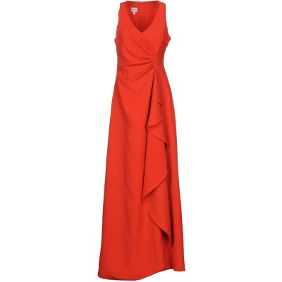 アルマーニ コレッツィオーニ ARMANI COLLEZIONI ロングワンピース&ドレス レッド 42 ポリエステル 100% ロングワンピース&