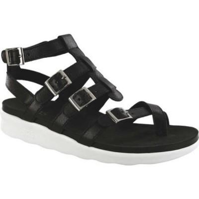 サス SAS レディース サンダル・ミュール グラディエーターサンダル シューズ・靴 Aria Toe Loop Gladiator Sandal Gravity Leather