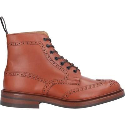 トリッカーズ TRICKER'S メンズ ブーツ シューズ・靴 boots Brown