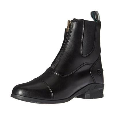 Ariat レディース ヘリテージ IV ジップ Paddock ブーツ, ブラック, 7 B US(海外取寄せ品)