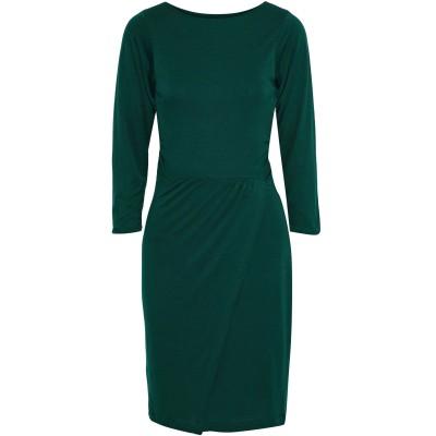 IRIS & INK ミニワンピース&ドレス エメラルドグリーン 4 テンセル 100% ミニワンピース&ドレス
