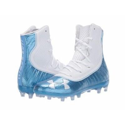 アンダーアーマー メンズ スニーカー シューズ UA Highlight MC Carolina Blue/White