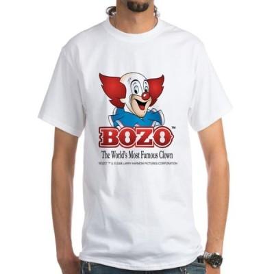 メンズ 衣類 トップス CafePress - Bozo Face T-Shirt - Men's Classic T-Shirts Tシャツ