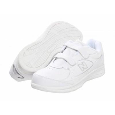 New Balance ニューバランス メンズ 男性用 シューズ 靴 スニーカー 運動靴 Hook and Loop 577 White/White【送料無料】