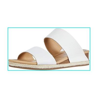 Lucky Brand Women's WYNTOR Wedge Sandal, White, 8.5 M US【並行輸入品】