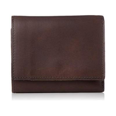 [ダン ゲンテン] 折り財布 三つ折りミニ財布 スマートウォレット ノウチャ