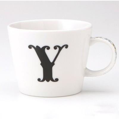 小倉陶器 アルファベット マグカップ Y