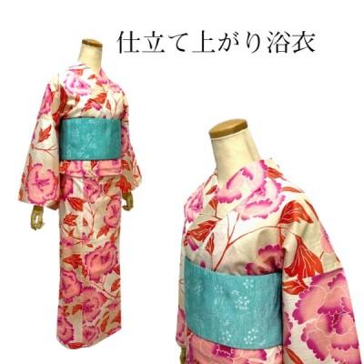 大島優子 ゆかた仕立て上がり 浴衣 フリーサイズ ブランド品 浴衣 単品 ゆかた 送料無料