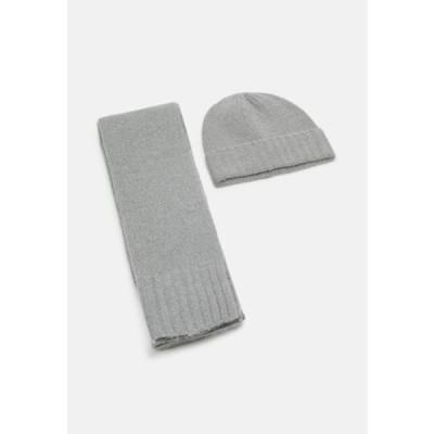 ピアワン メンズ スカーフ UNISEX SET - Scarf - light grey