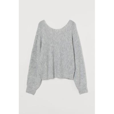 H&M - セーター - グレー