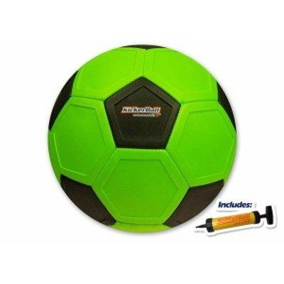 スワーブボール キッカーボール  サッカー 曲がる 魔球 カーブ 変化球 Kicker Ball Swerve Ball Venom Green 緑