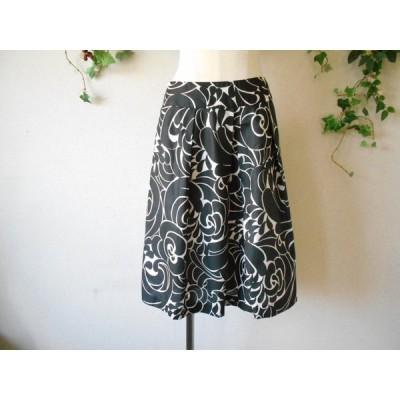 ジェイプレス J.PRESS 春夏 向き 上品 な ひざ丈 スカート 9 日本製