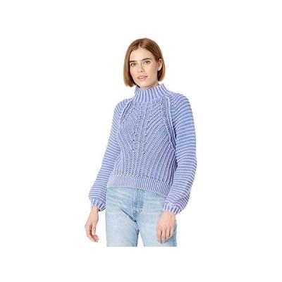 フリーピープル Sweetheart Sweater レディース セーター Blue Egret