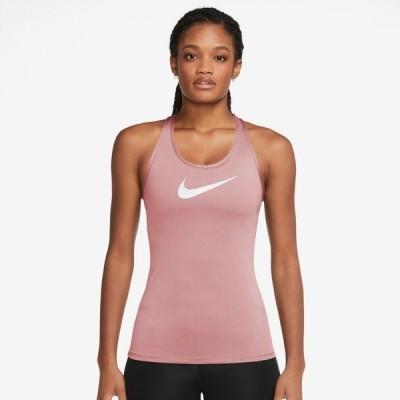 ナイキ カットソー トップス レディース Nike Women's Dri-FIT Swoosh Training Tank Top Pink
