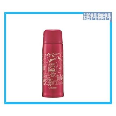 象印マホービン(ZOJIRUSHI) 水筒 ステンレス ボトル コップ 付き 保温 保冷 820ml レッド SJ-JS08-RA