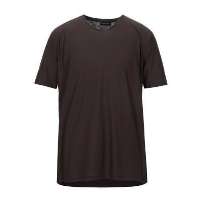 ロベルト コリーナ ROBERTO COLLINA T シャツ ダークブラウン 52 コットン 100% T シャツ