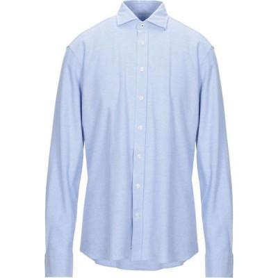 ハケット HACKETT メンズ シャツ トップス solid color shirt Sky blue