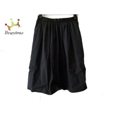 ニジュウサンク 23区 スカート サイズ38 M レディース 黒       スペシャル特価 20201005