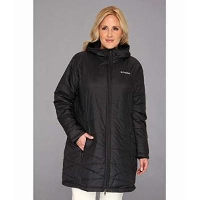 コロンビア レディース コート アウター ジャケット Plus Size Mighty Lite? Hooded Jacket