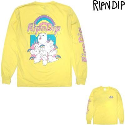 RIPNDIP MINIONS LONG SLEEVE TEE リップンディップ ロンT Tシャツ t-shirt プリントT ロングスリーブ
