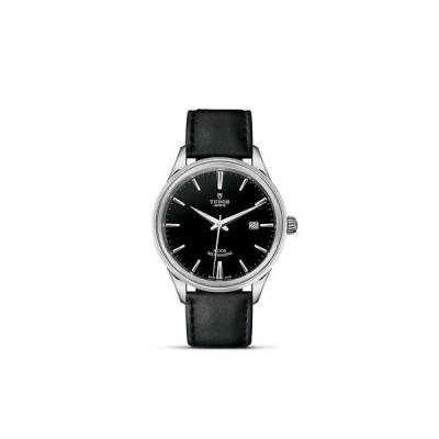 おしゃれ 個性的 高品質 腕時計 チュードル Tudor Style 41mm Leather Band Steel Case M12700-0006