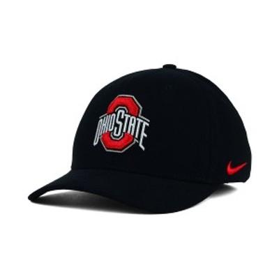 ナイキ メンズ 帽子 アクセサリー Ohio State Buckeyes Classic Swoosh Cap Black