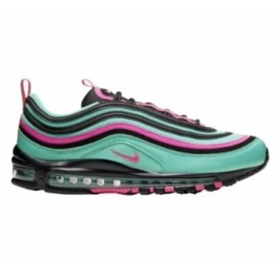 ナイキ メンズ エア マックス97 Nike Air Max '97 スニーカー Hyper Turquoise/Pink Blast/Black